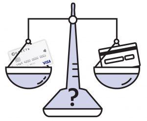 Сравнение карты Совесть с кредитной картой